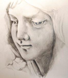 テラコッタの少女
